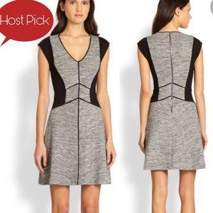 NWOT $495 REBECCA TAYLOR MELANGE KNIT DRESS